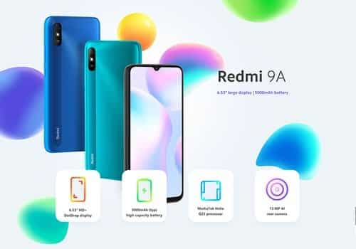Xiaomi Redmi 9A features