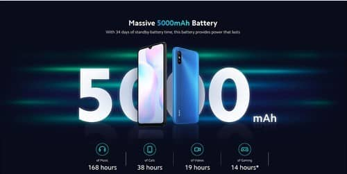 Xiaomi Redmi 9A battery