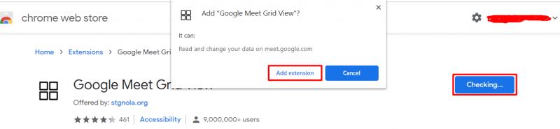 Google meet grid view