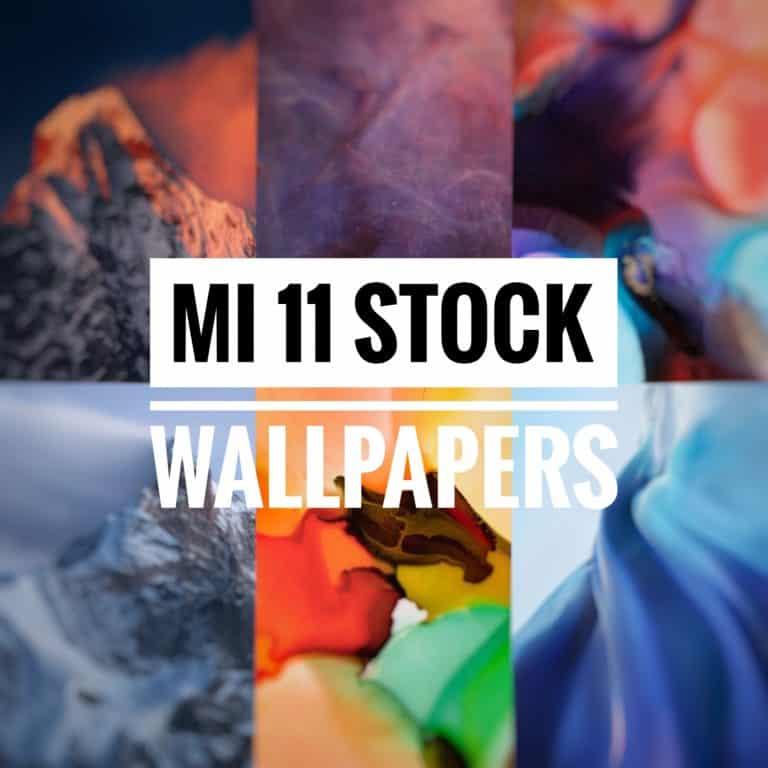 Download Xiaomi Mi 11 Stock Wallpapers 4K Full Resolution