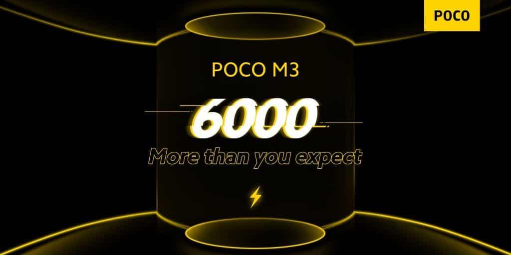 Poco M3 Battery