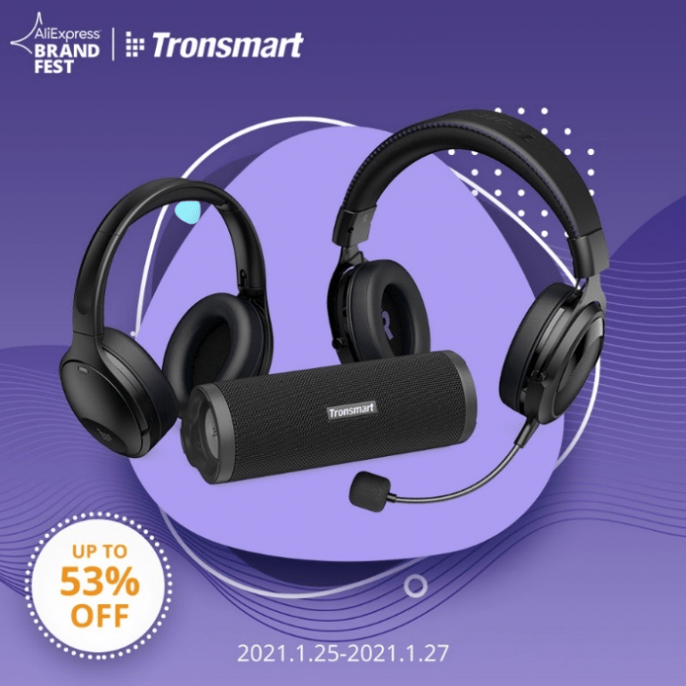 Tronsmart Launches 3 New Products in 2021 on Aliexpress