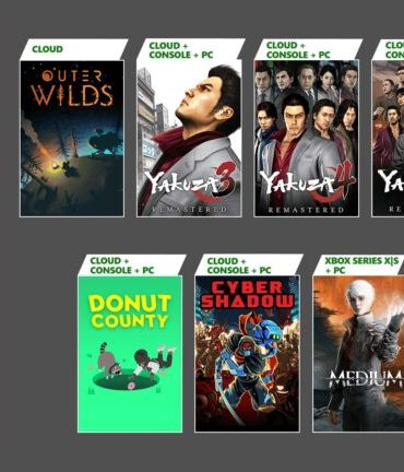 Xbox Game Pass list of games - Late January - 2021
