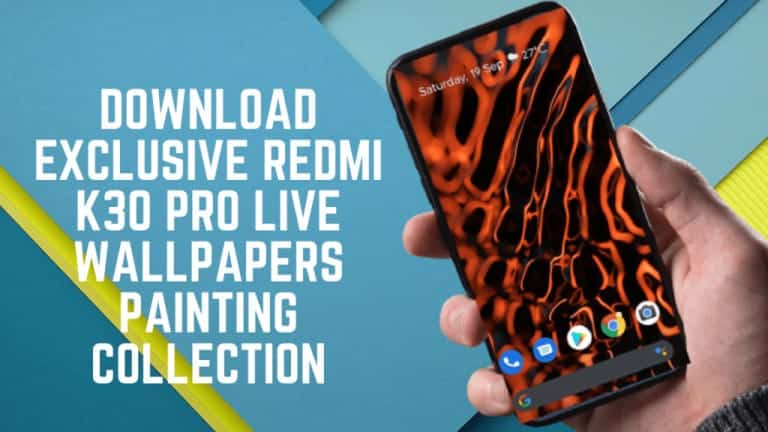 Download Redmi K30 Pro Live Wallpapers Painting Collection