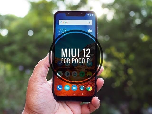 Download MIUI 12.0.3.0 For POCO F1 ( OTA Update )