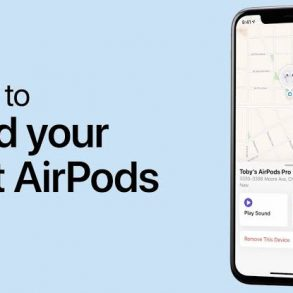 "How to use the ""Find My AirPods"" Feature"