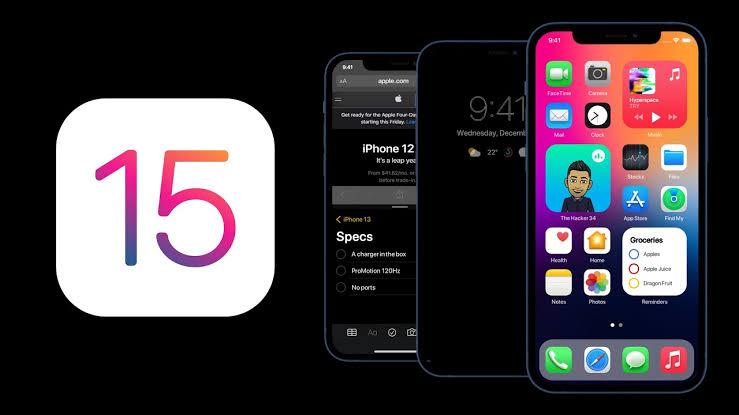 Ios 15 devices list