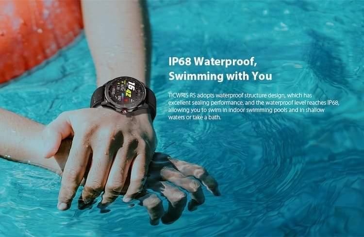 Ticwris Smartwatch waterproof