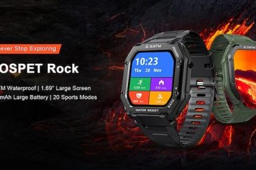 Review Kospet Rock Smartwatch for only $36.99