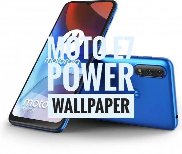 Download Moto E7 Power Wallpaper Full HD resolution