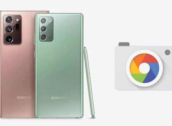 Download Gcam for Galaxy Note 20 Ultra (SD & Exynos)