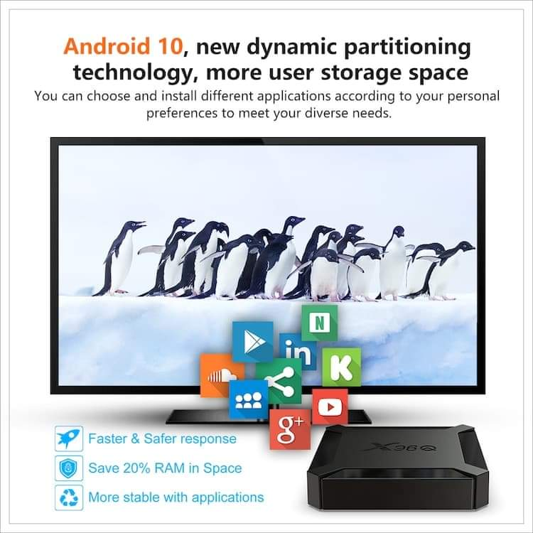 X96 android tv box