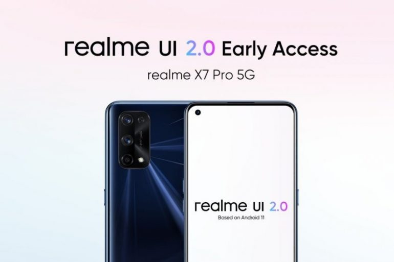 Realme X7 Pro Starts receive Android 11 Based on Realme UI 2.0