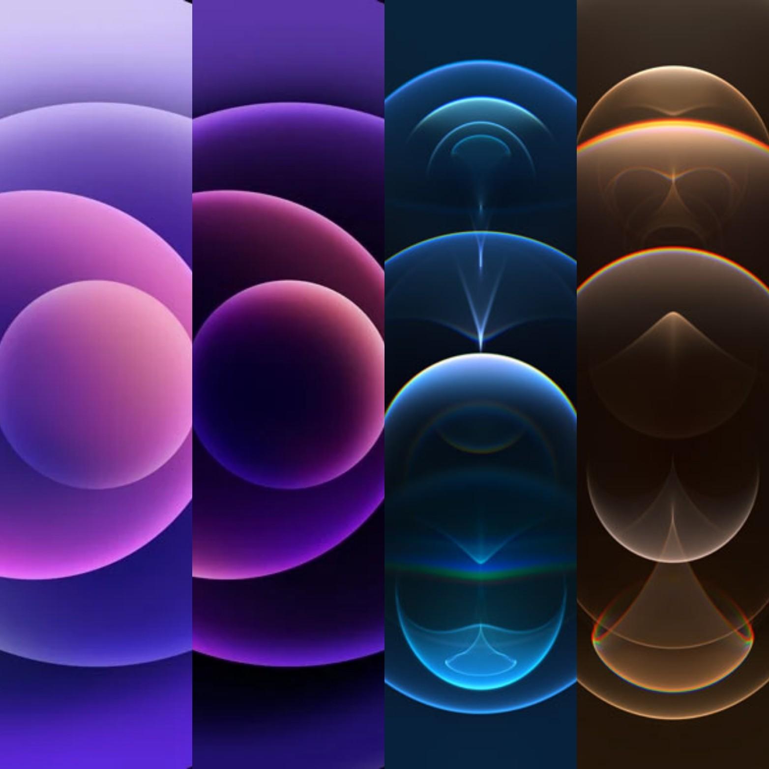 Iphonr 12 Purple Wallpapers
