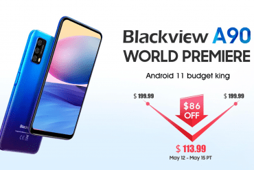 Grab Blackview A90 Smartphone for only $113 (86$ Off)