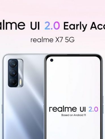 Realme X7 Starts getting Android 11 Based On Realme UI 2.0