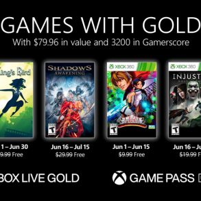 Xbox Live Gold June 2021 Free Game List