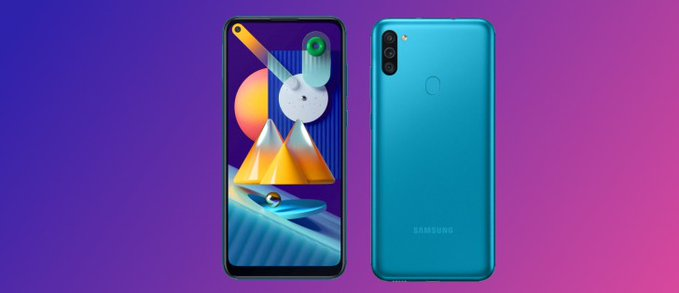 Galaxy M11 Android 11