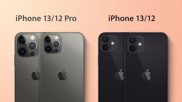 The iPhone 13 series comes with a thicker design with a larger camera bump