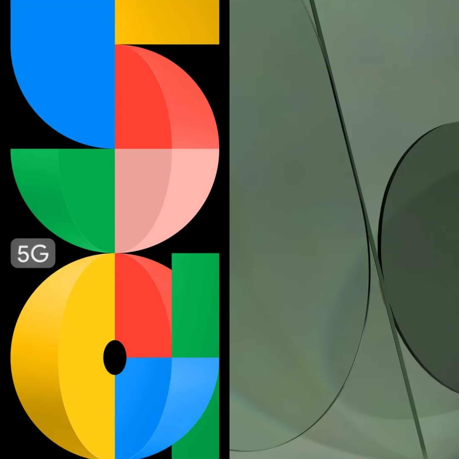 Google Pixel 5a wallpapers