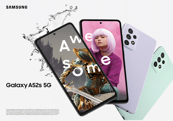 Samsung announces the Galaxy A52s 5G with the Snapdragon 778G processor