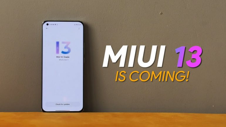 Xiaomi MIUI 13 CEO Confirms Official Launch Date