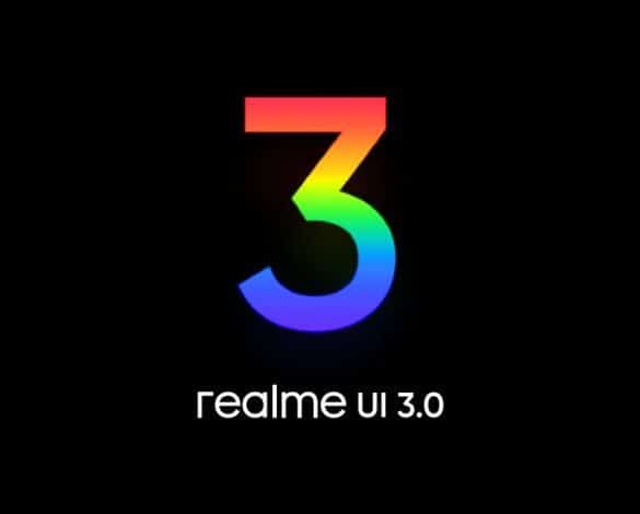 Phones that will get realme UI 3.0 interface