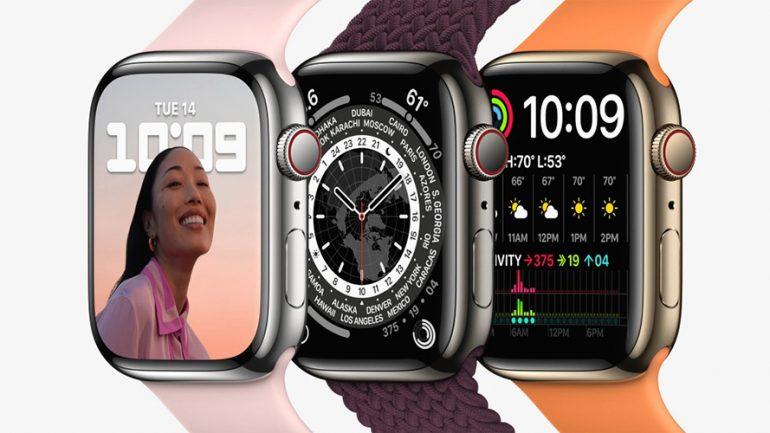 Apple begins receiving pre-orders for the Apple Watch Series 7 on October 8