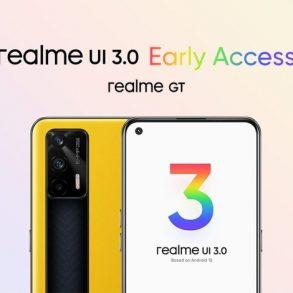 Realme GT 5G gets Realme UI 3.0 beta update