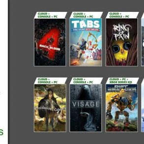 Xbox Game Pass October 2021 Games - includes Back 4 Blood