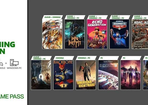 Xbox Game Pass mid-October 2021 List of Games